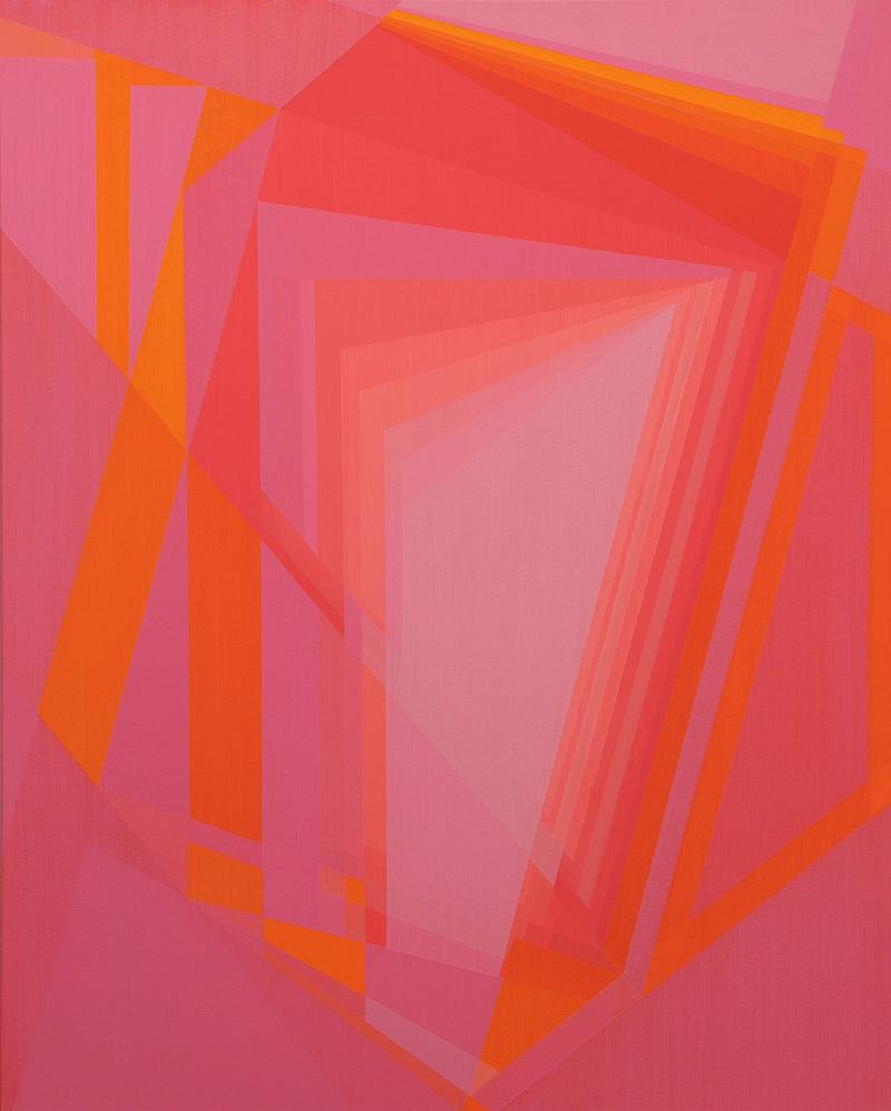 Javier Victorero. Vanitas XVI, 2014-2015, acrílico/lienzo, 81x65 cm.
