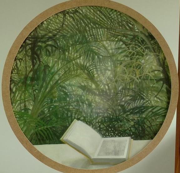 Libro (2015). Óleo/lienzo, 44 cm. (dm.)