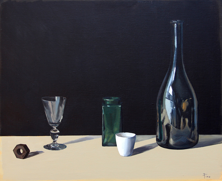 """""""Disonancia"""" - Óleo sobre lienzo, 50x61 cm"""