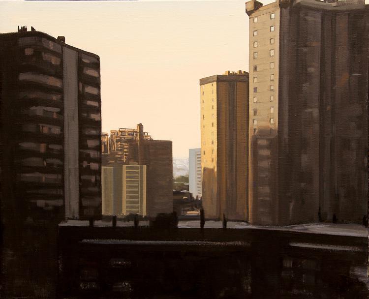"""""""Y llegaba el verano""""- Óleo sobre lienzo, 50x61 cm."""