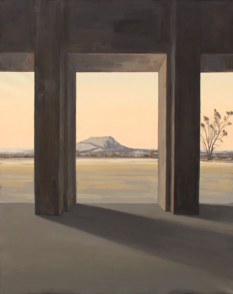 "Sonata 3 ""Norte""- Óleo sobre lienzo,162x130 cm."