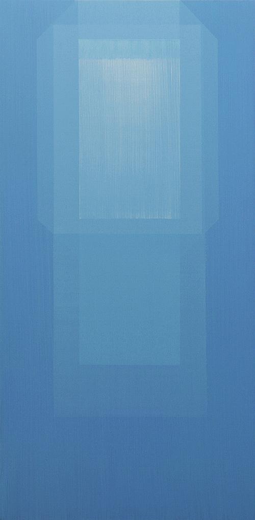 Cielo de Juguete I. 100x50cm. Acrílico/lienzo. 2012