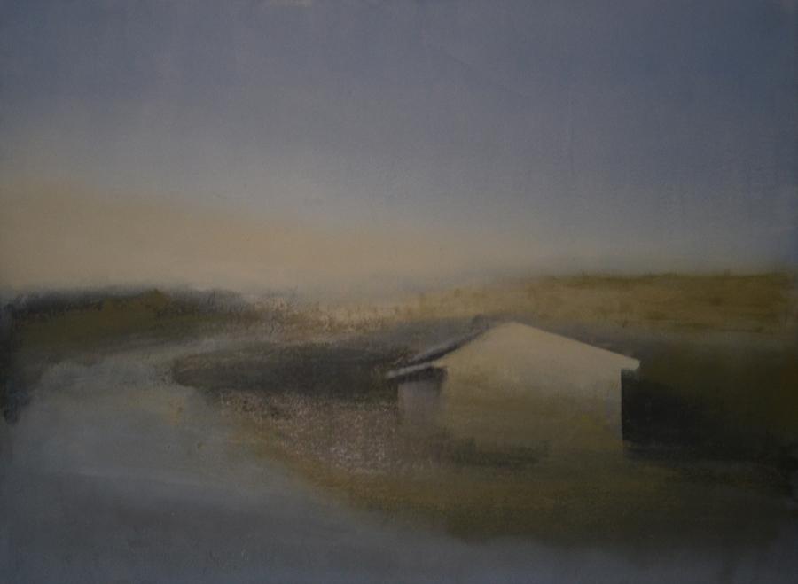 Casa El Pardo, 2015 - Óleo sobre lienzo 73 X 100 cm