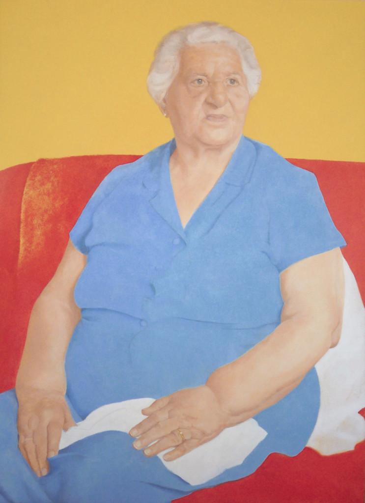 Fe. Óleo sobre lienzo, 2012. 70x96 cm
