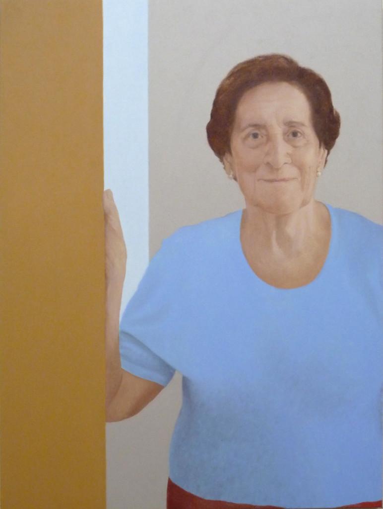 Ana. Óleo sobre lienzo. 60x80. 2014