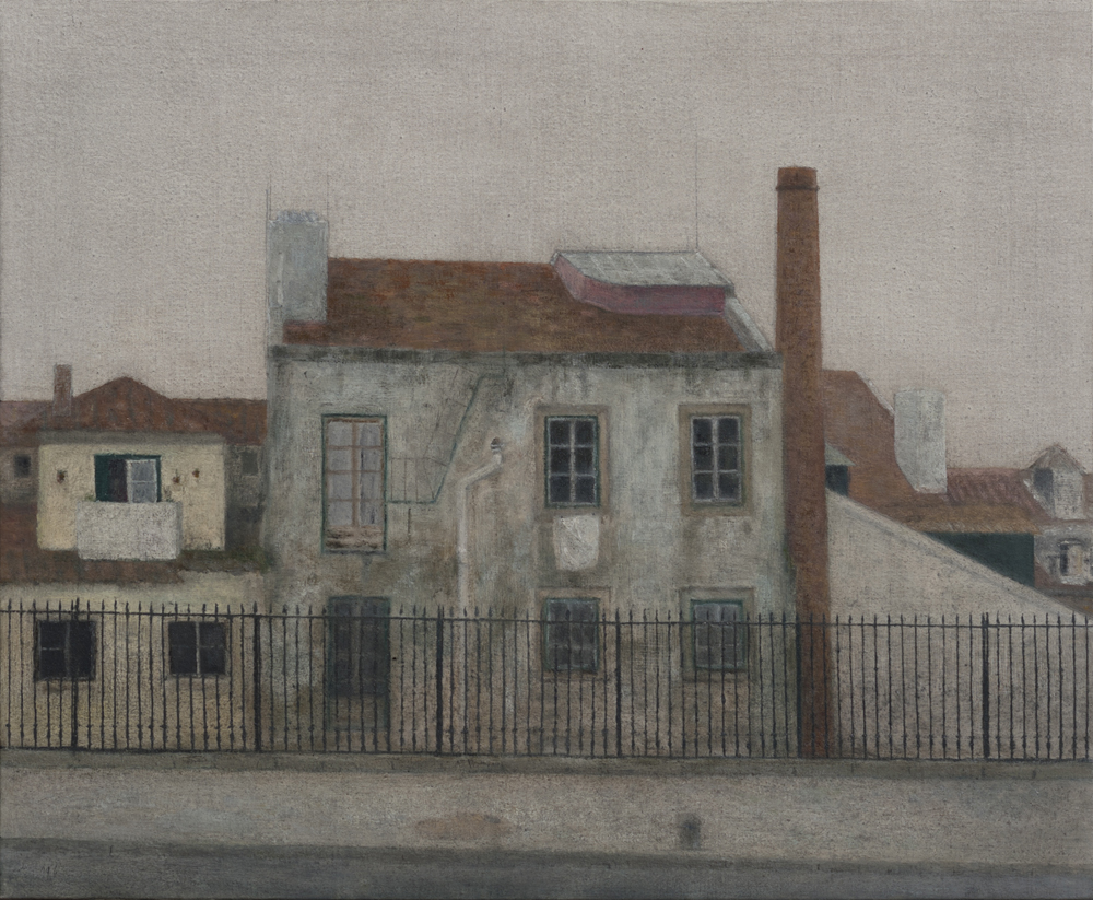 París - Casas ao pé da Sé O-L 60x73