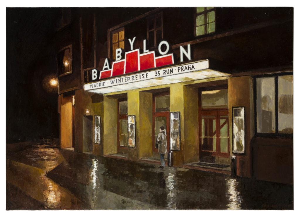 Babylon, Berlín, 2018 Óleo sobre lienzo 65 x 81 cm