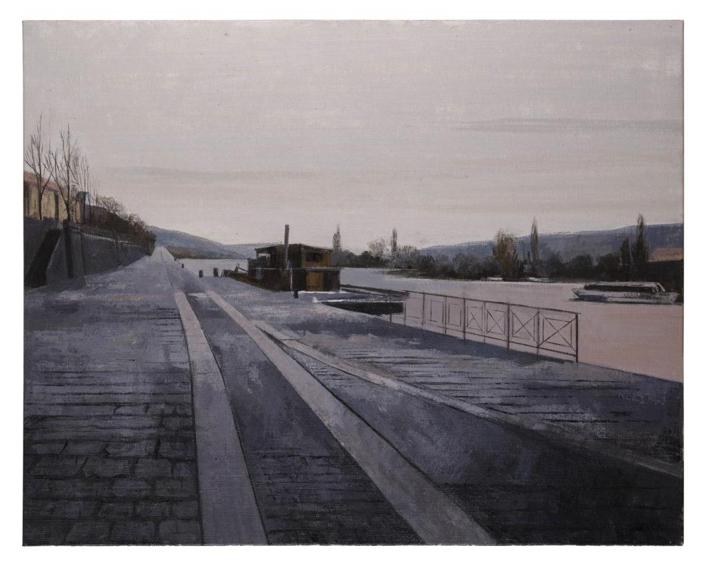 Naplavka, 2019 Óleo sobre lienzo 73 x 92 cm