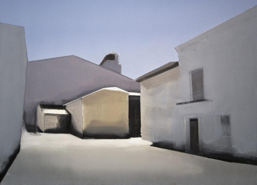 Calle Jesús. Óleo sobre lienzo. 73 x 100 cm.