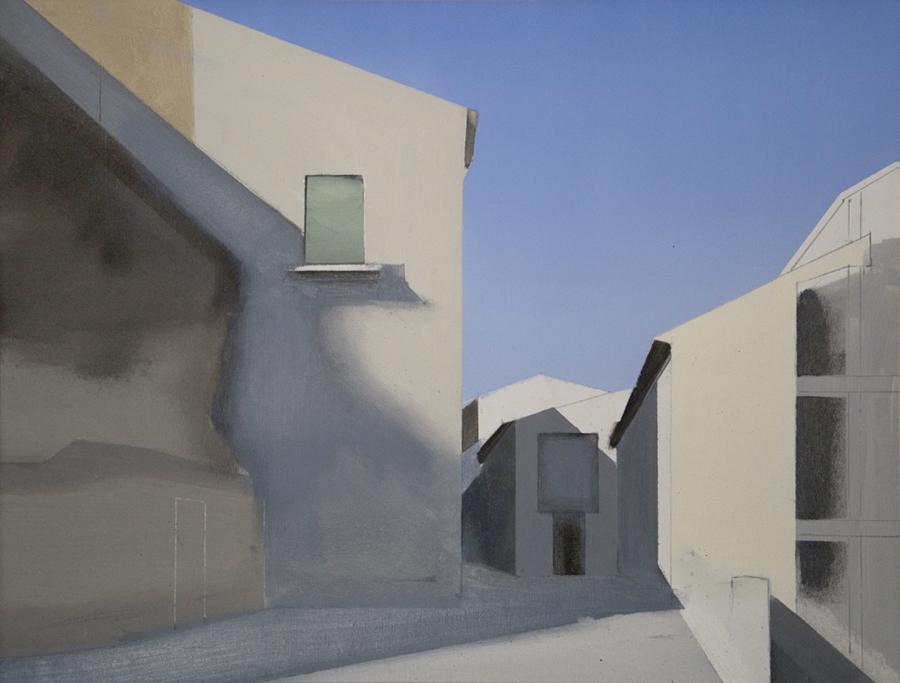 Calle Elisa. Óleo sobre lienzo. 50 x 65 cm.